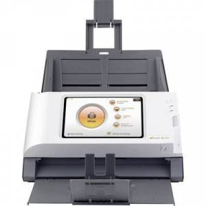 Plustek eScan A280 Essential Duplex document scanner A4 600 x 600 dpi 20 pages/min, 40 IPM USB, LAN (10/100 Mbps), Wi-Fi 802.11 b/g/n