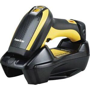 Datalogic PowerScan PBT9500 Barcode scanner Bluetooth® 1D, 2D Imager Yellow, Black Hand-held USB