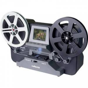 Reflecta Film scanner Reflecta Super 8 Normal 8 1440 x 1080 p Super 8, 8mm film, TV out, Memory card slot, Display, PC-free digitizing