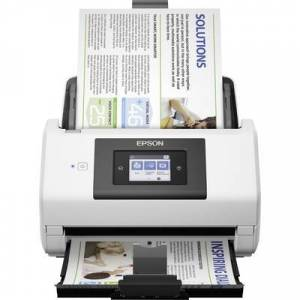 Epson WorkForce DS-780N Duplex document scanner A4 600 x 600 dpi 45 pages/min, 90 IPM USB 3.0, LAN (10/100/1000 Mbps)