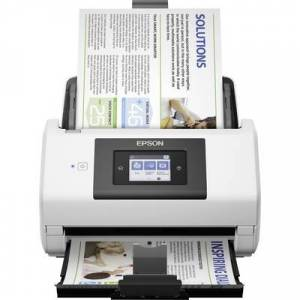 Epson WorkForce DS-780N Duplex document scanner A4 600 x 600 dpi 45 pages/min, 90 IPM USB 3.0, LAN (10/100/1000 Mbps)