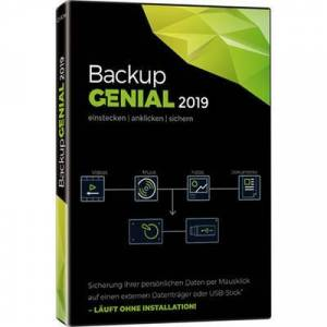 Backup Genial 2019 Full version, unlimited Windows Backup