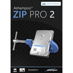 Ashampoo ZIP PRO 2 Full version, 3 licences Windows Multimedia