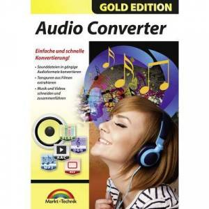 Markt & Technik Audio Converter Full version, 1 licence Windows Music