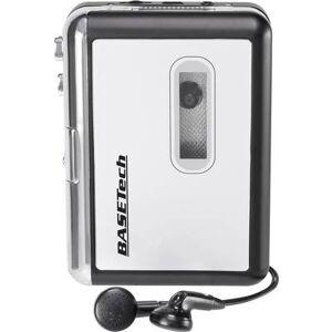 Basetech BT-USB-TAPE-100 Audio cassette digitiser Incl. headphones