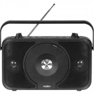 Reflexion Radio CD player FM AUX, CD, FM Tangible keypad Black