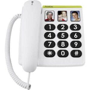 doro PhoneEasy 331 ph Corded Big Button Camera button No display White
