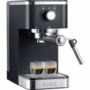 Graef Salita Espresso machine with sump filter holder Black 1400 W