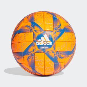 adidas Conext 19 Winter Official Match Football Conext 19 Winter Official Match Football  - Solar Orange / Football Blue / White / Silver Metallic [Unisex]