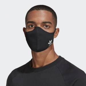 adidas Face Covers M/L 3-Pack Face Covers M/L 3-Pack  - Multicolor / Black / White / Blue Bird [Unisex]