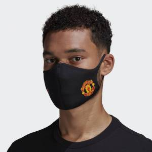 adidas Manchester United Face Covers M/L 3-Pack Manchester United Face Covers M/L 3-Pack  - Black / Real Red [Unisex]