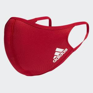 adidas Face Covers M/L 3-Pack Face Covers M/L 3-Pack  - Multicolor / Black / White / Power Red [Unisex]