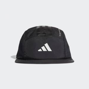 adidas Five-Panel Power Cap Five-Panel Power Cap  - Black / Black / White [Unisex]