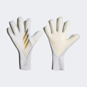 adidas X 20 Pro Goalkeeper Gloves X 20 Pro Goalkeeper Gloves  - White / Gold Metallic / Silver Metallic [Unisex]