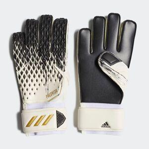 adidas Predator 20 Match Goalkeeper Gloves Predator 20 Match Goalkeeper Gloves  - White / Black / Gold Metallic [Unisex]