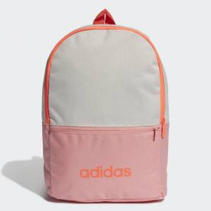 adidas Classic Backpack Classic Backpack  - Glow Pink / Orbit Grey / Signal Coral [Kids]