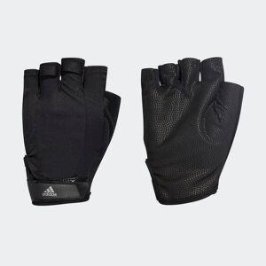 adidas Versatile Climalite Gloves Versatile Climalite Gloves  - Black / Black / Iron Met. [Unisex]
