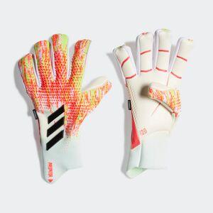 adidas Predator 20 Pro Fingersave Goalkeeper Gloves Predator 20 Pro Fingersave Goalkeeper Gloves  - White / Pop [Unisex]