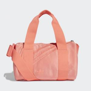 adidas Mini Nylon Duffel Bag Mini Nylon Duffel Bag  - Semi Flash Red [Women]