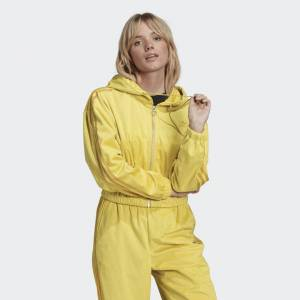 adidas Hooded Track Top Hooded Track Top  - Corn Yellow [Women]