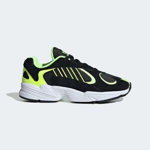 adidas Yung-1 Shoes Unisex Core Black / Core Black / Hi-Res Yellow (3.5,4,4.5,5,5.5,6,6.5,7,7.5,8,8.5,9,9.5,10,10.5,11,11.5,12,12.5,13,13.5)