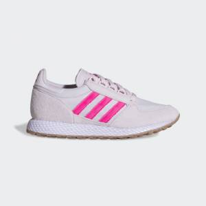adidas Forest Grove Shoes Forest Grove Shoes  - Orchid Tint / Shock Pink / Cloud White [Women]