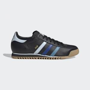 adidas ROM Shoes ROM Shoes  - Core Black / Sky Tint / Royal Blue [Women]