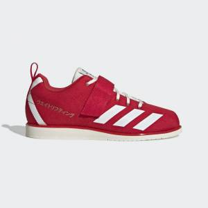 adidas Powerlift 4 Shoes Powerlift 4 Shoes  - Japan Red / Off White / Gold Metallic [Women]