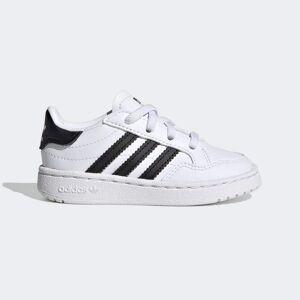 adidas Team Court Shoes Team Court Shoes  - Cloud White / Core Black / Cloud White [Kids]