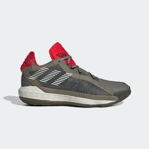 adidas Dame 6 Shoes Dame 6 Shoes  - Legacy Green / Orbit Grey / Red [Women]