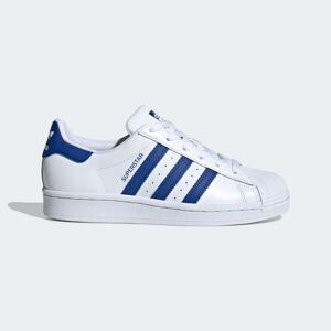 adidas Superstar Shoes Superstar Shoes  - Cloud White / Royal Blue / Cloud White [Kids]