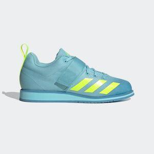 adidas Powerlift 4 Weightlifting Shoes Powerlift 4 Weightlifting Shoes  - Hazy Sky / Solar Yellow / Hazy Blue [Women]