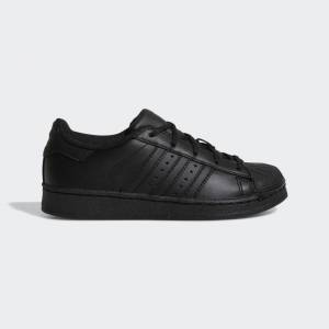 adidas Superstar Shoes Superstar Shoes  - Core Black / Core Black / Core Black [Kids]
