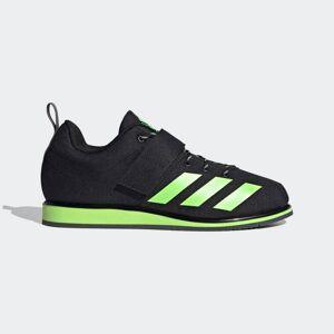 adidas Powerlift 4 Shoes Powerlift 4 Shoes  - Core Black / Signal Green / Grey Six [Unisex]