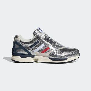 adidas ZX 9000 Concepts (Boston Marathon®) Shoes ZX 9000 Concepts (Boston Marathon®) Shoes  - Silver Metallic / Scarlet / Collegiate Navy [Unisex]