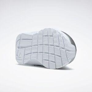 Reebok XT Sprinter Shoes  - Kids - Silver Metallic / Solar Pink / White - Size: 3.5K,4K,5K,5.5K,6K,6.5K,7K,4.5K,7.5K,8K,8.5K,9K,9.5K