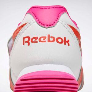 Reebok Royal Classic Jogger 2 Shoes  - Kids - White / Proud Pink / Carotene - Size: 1.5K,2.5K,3.5K,4K,5K,5.5K,6K,6.5K,7K,4.5K,7.5K,8K,8.5K,9K,9.5K