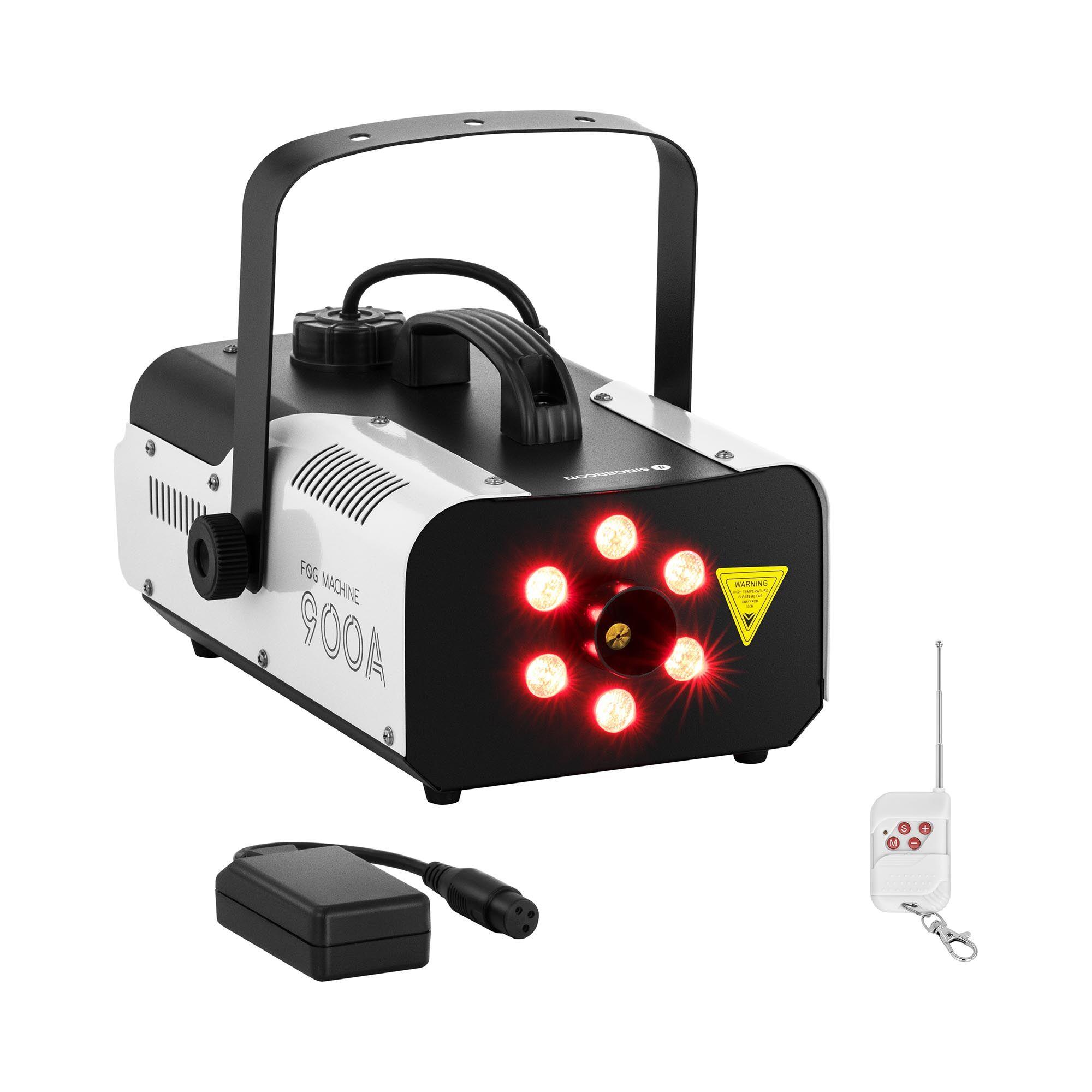 Singercon Fog Machine - 900 W - 141.6 m³ - LED 6 x 3 W CON.FM-900A