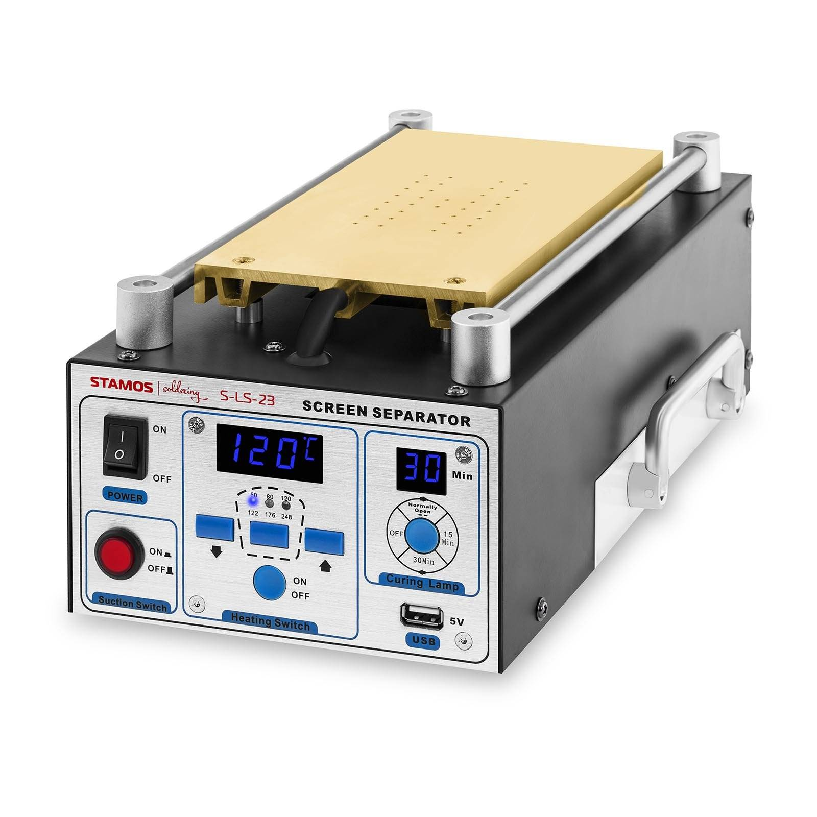 Stamos Soldering LCD Separator with UV Lamp