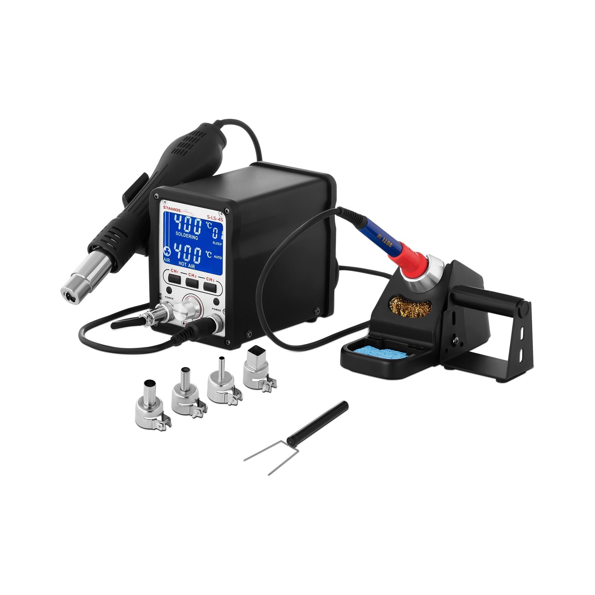 Stamos Soldering Digital Soldering Station - 70 W - Memory buttons