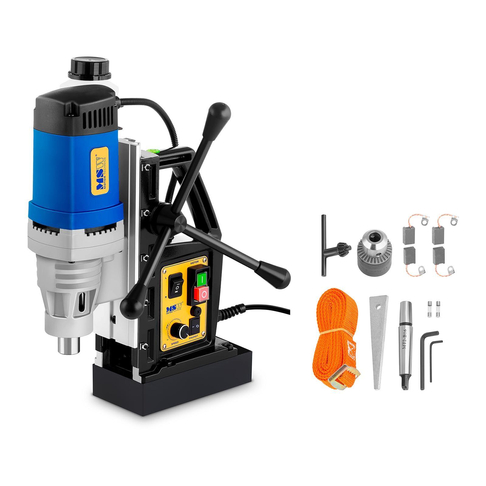 MSW Magnetic Drill Machine - 1.380 Watt - 600 r/min