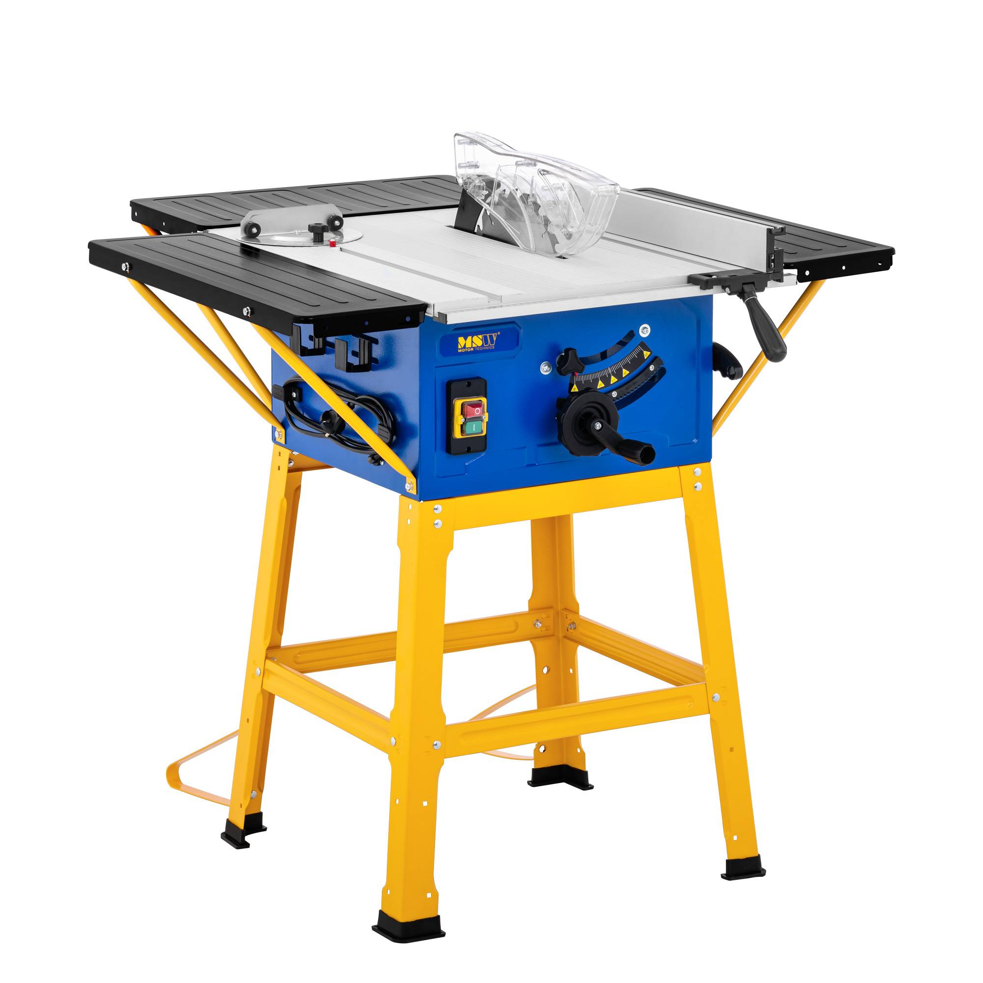 MSW Table saw - 4,800 rpm - dust extraction