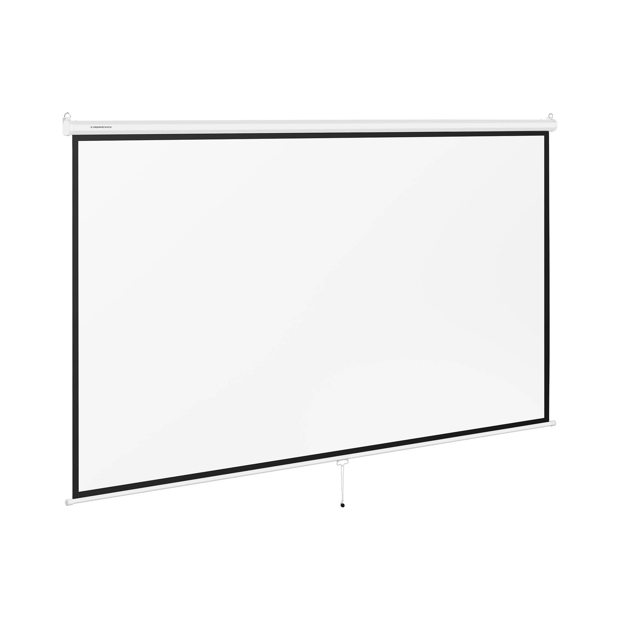 Fromm & Starck Projection Screen - 340 x 210 cm - 16:9