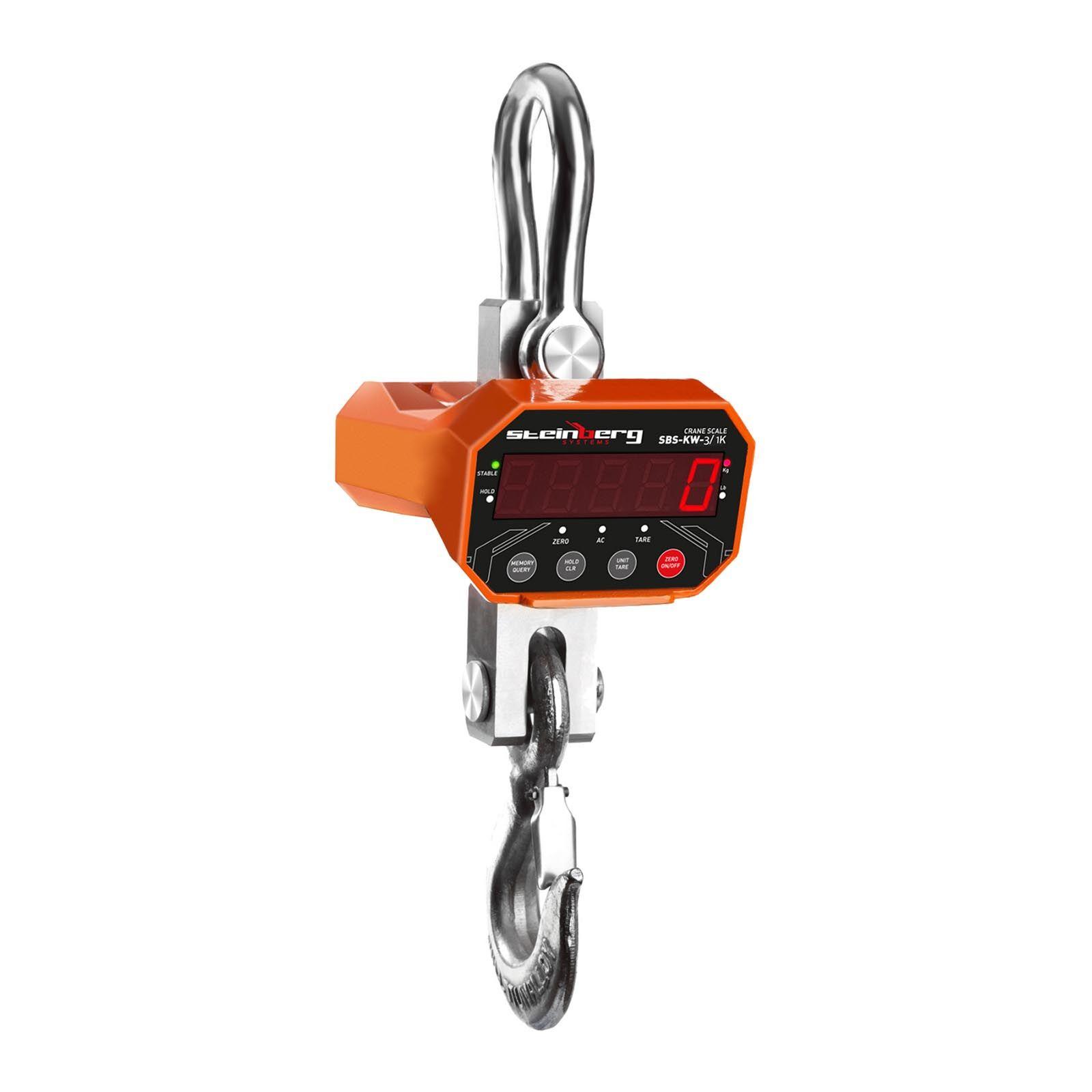 Steinberg Crane Scales - 3 t / 1 kg - LED