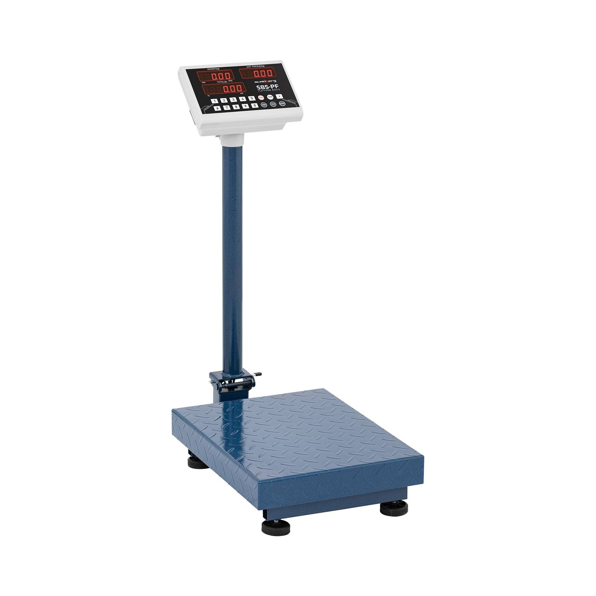 Steinberg Platform Scales - 100 kg / 10 g - foldable