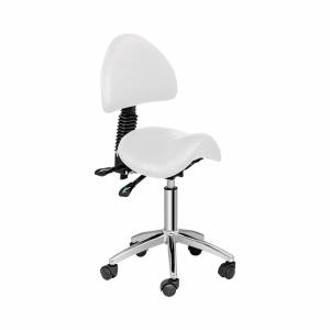 physa B-WARE Saddle Chair with Back Support PHYSA BERLIN WHITE