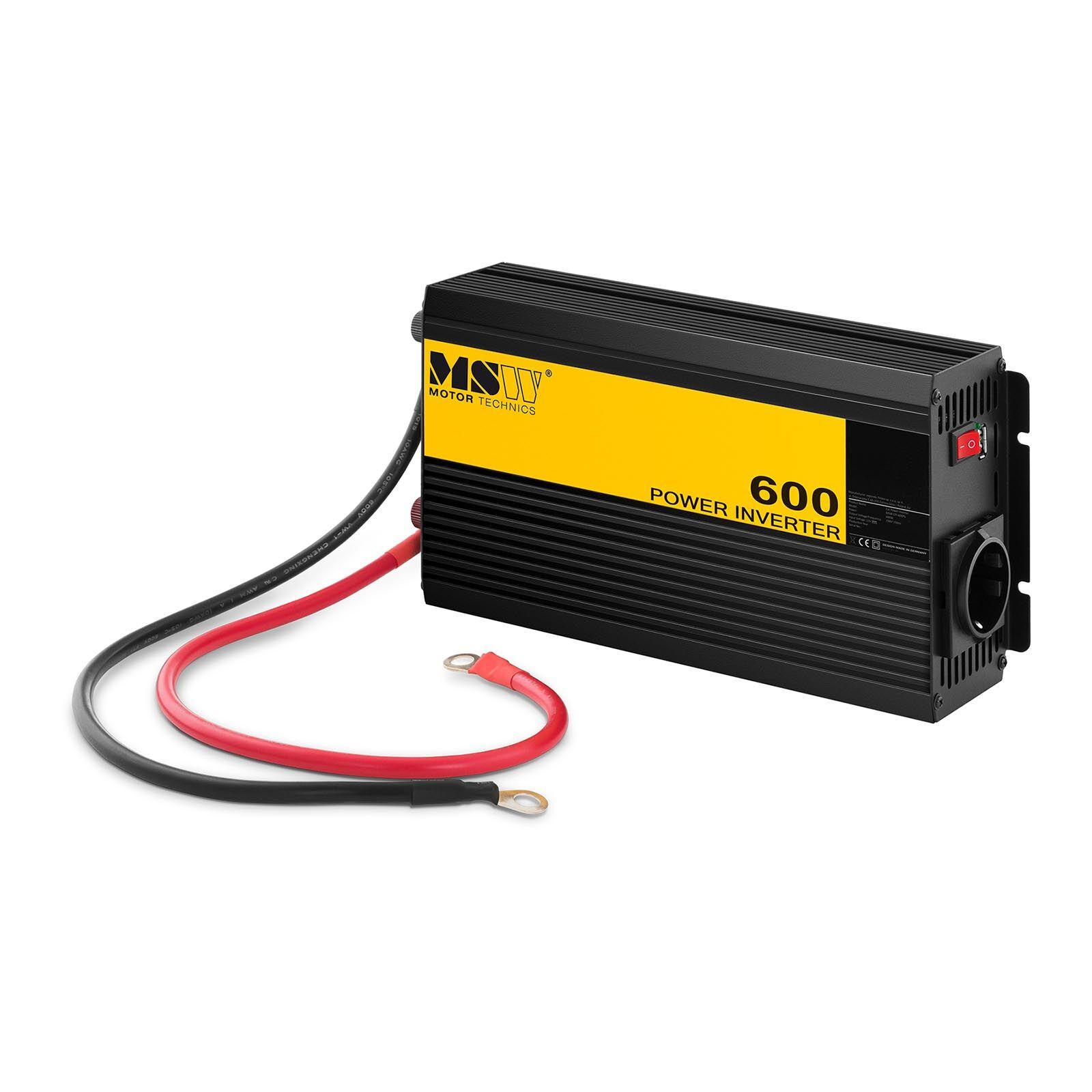 MSW Power inverter - Pure Sine - 600 W MSW-CPI-600PS