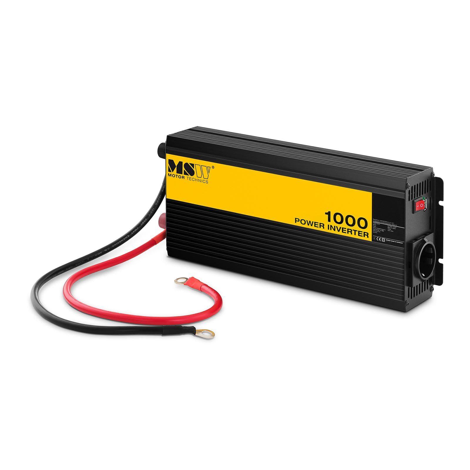 MSW Power inverter - Pure Sine - 1000 W MSW-CPI-1000PS