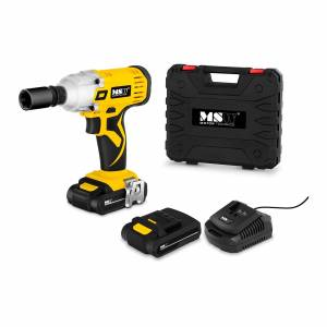 MSW Cordless Impact Driver - 240 Nm - 18 V Lithium Ion Battery - LED-Lights MSW-CIW18VL