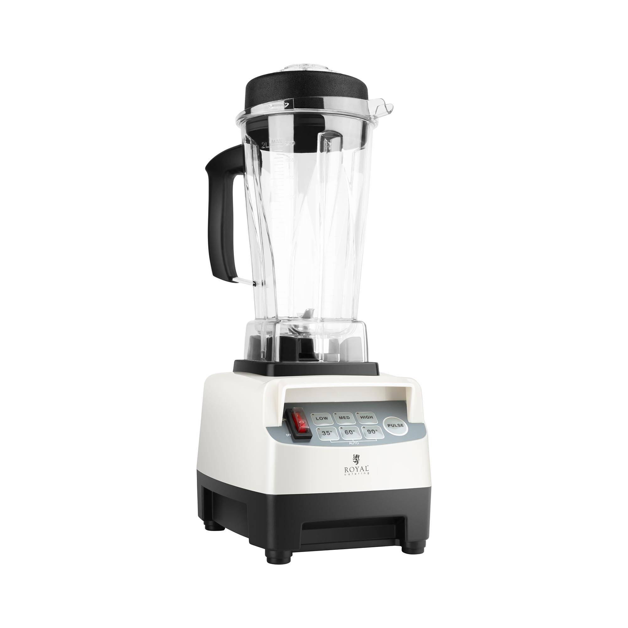 Royal Catering Commercial High-performance Blender Katana - 1,500 W - 38,000 rpm